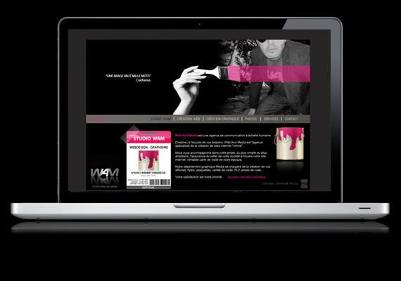 Site Web and Media - WAM Webdesign - Graphisme - Photographie